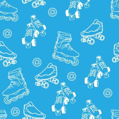 Roller skate pattern