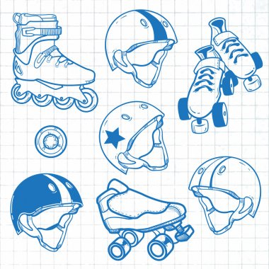 Set of roller skates