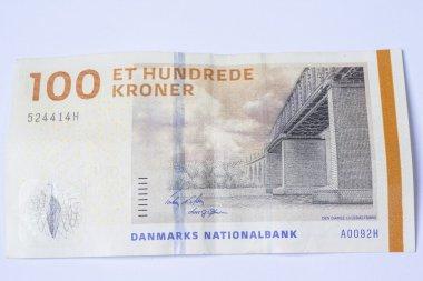 Banknote 100 Danish Krone