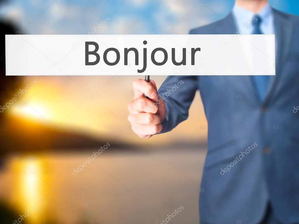 god morgon på franska