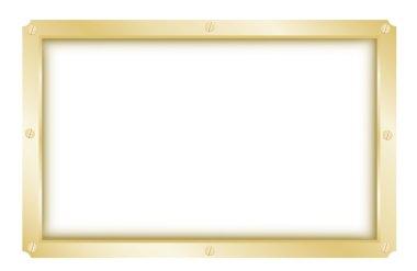Simple metal frame