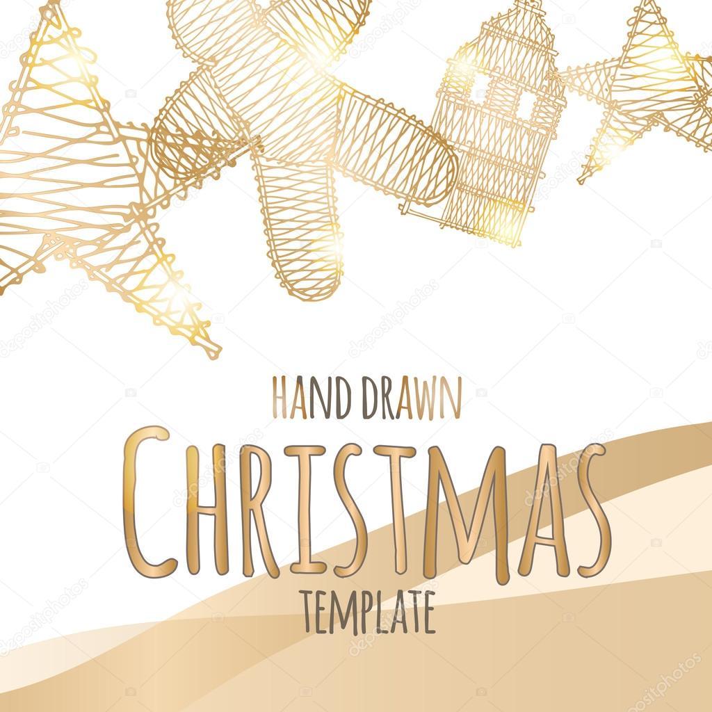 Ausgezeichnet Weihnachtsschmuck Schablone Vorlage Zeitgenössisch ...