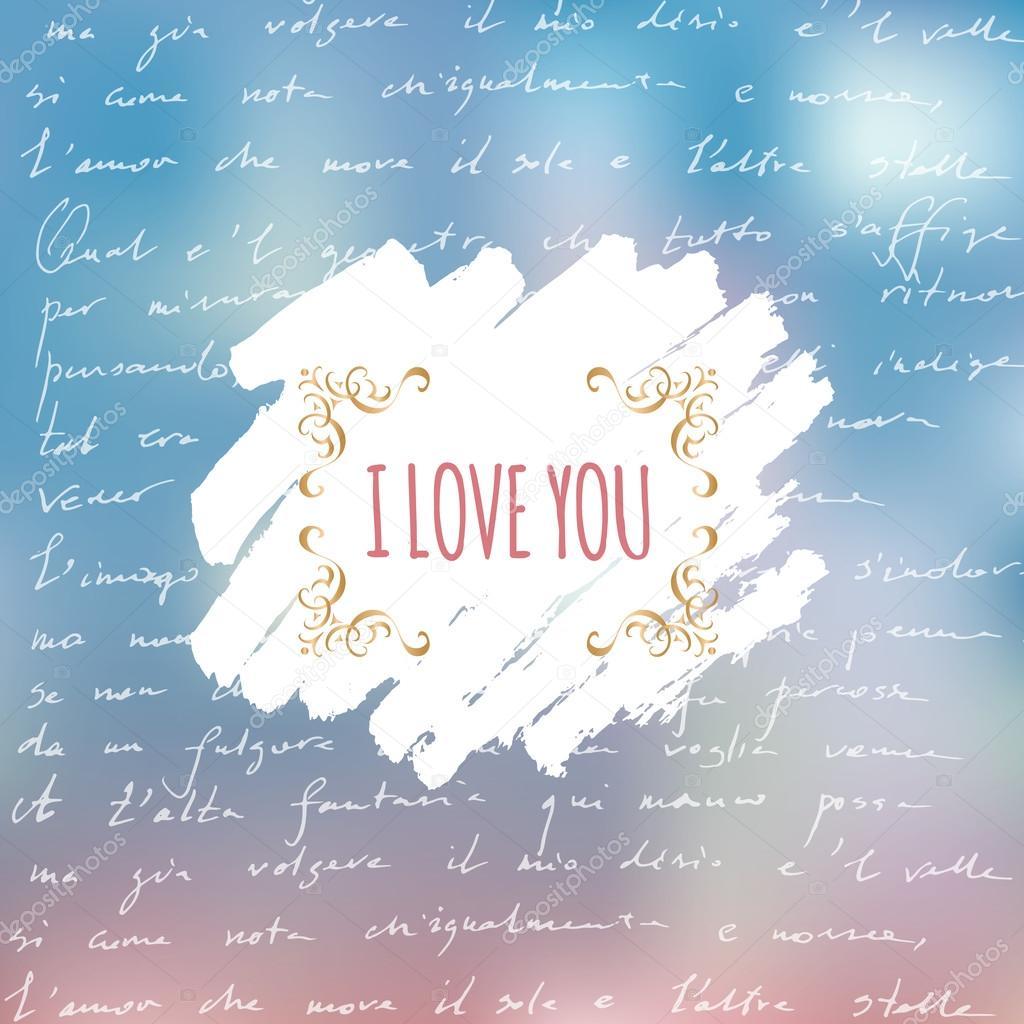 Kocham Cię Karty Z Ręki Tekst Wiersz Napisany Przez Dante