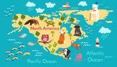 Fotografie Tiere Weltkarte, Nordamerika