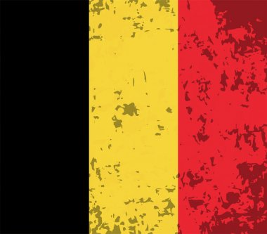 Abstract image of the Belgian flag