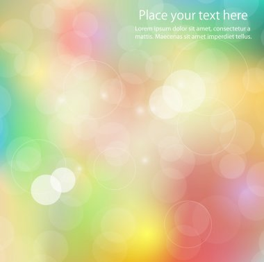 Abstract colors shining background