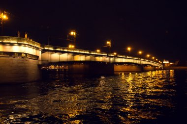 Bridge across the Neva River.
