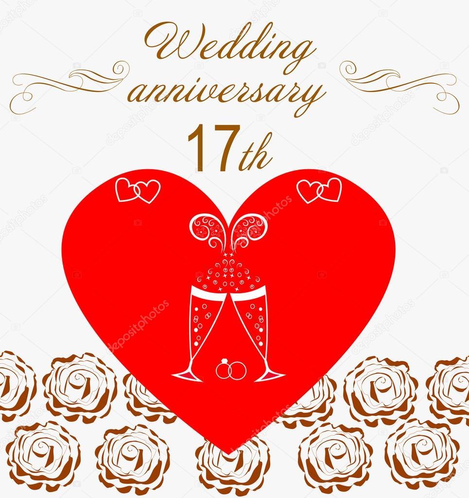17. Hochzeitstag