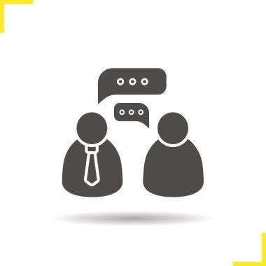 Job interview icon