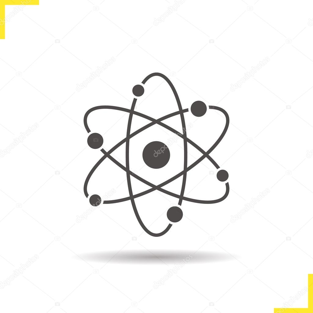 Atom structure icon stock vector bsd 124476846 atom structure icon stock vector ccuart Images