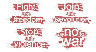 Hand molotov - join the revolution