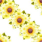 květinový vzorek pozadí