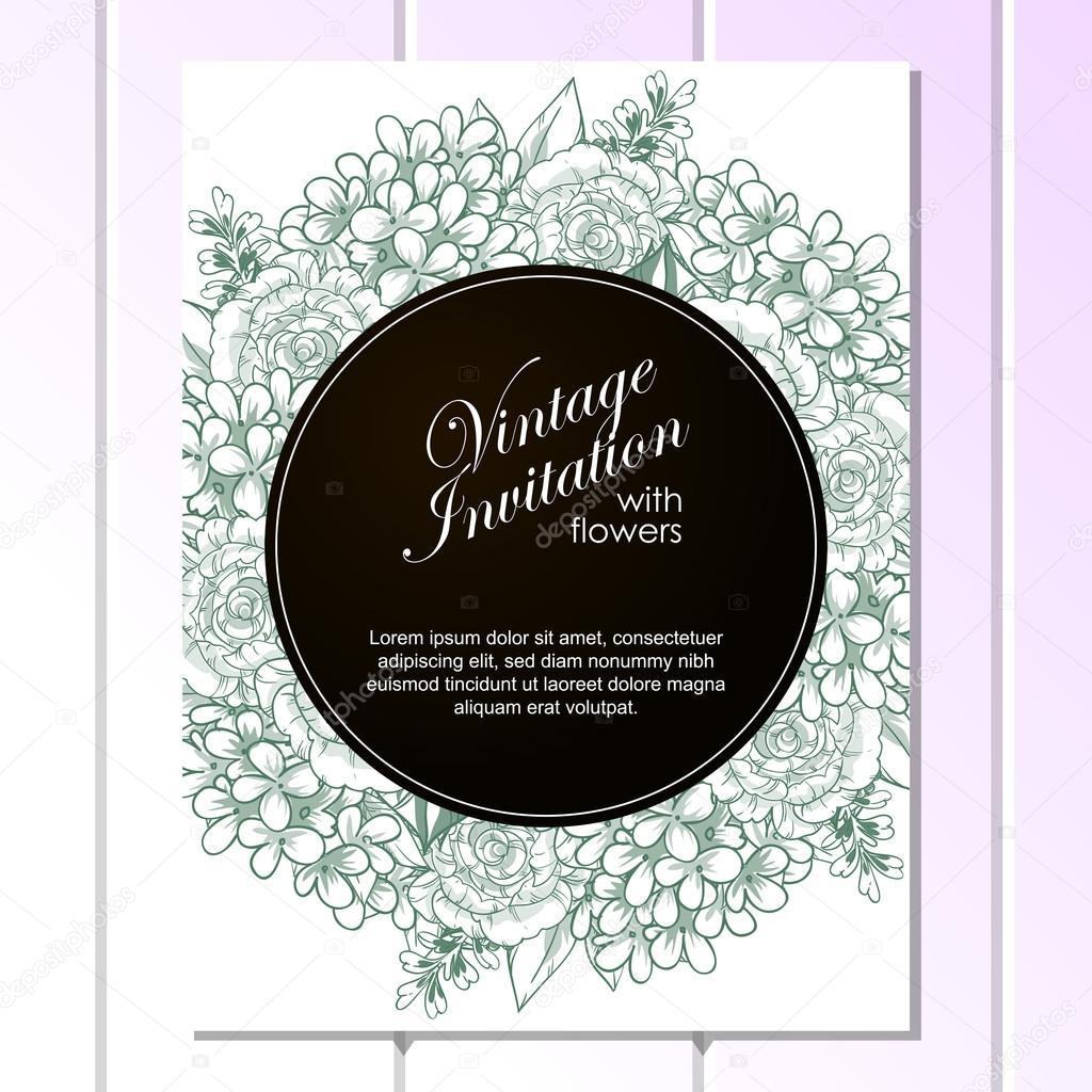 Invitacion Para Bautizo Editable Green Linera Wedding
