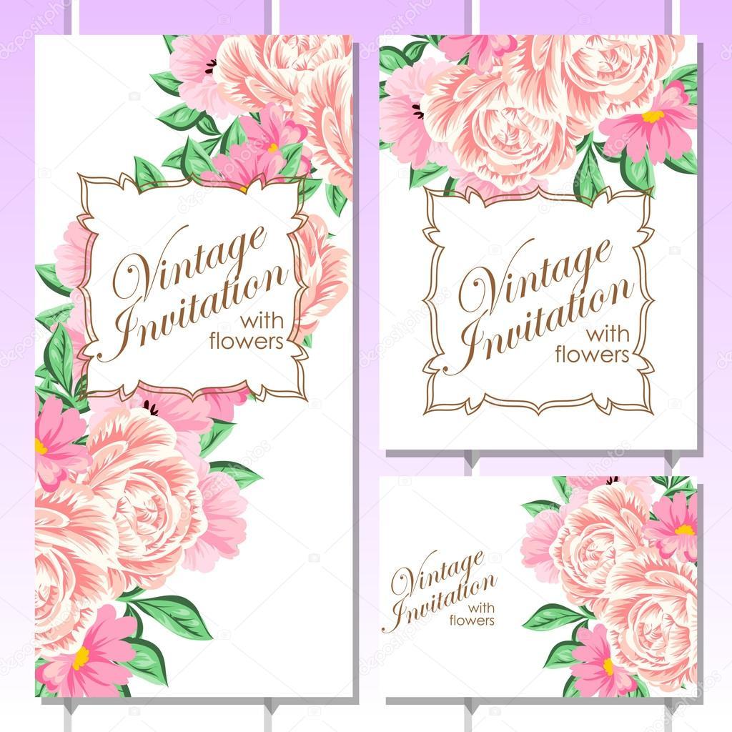 Pink greeting wedding invitation card vetores de stock all about pink greeting wedding invitation card vetores de stock stopboris Choice Image