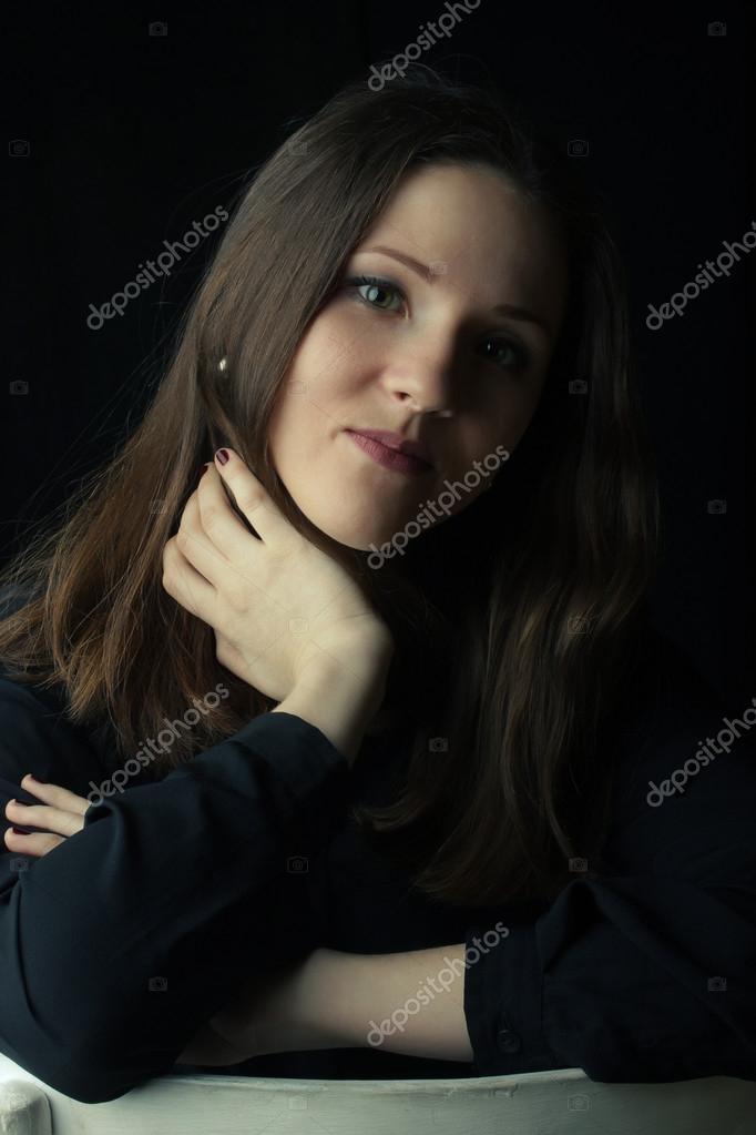 Foto © bella nera in camicia Stock kavrishka 94190222 ragazza wqYIqrS