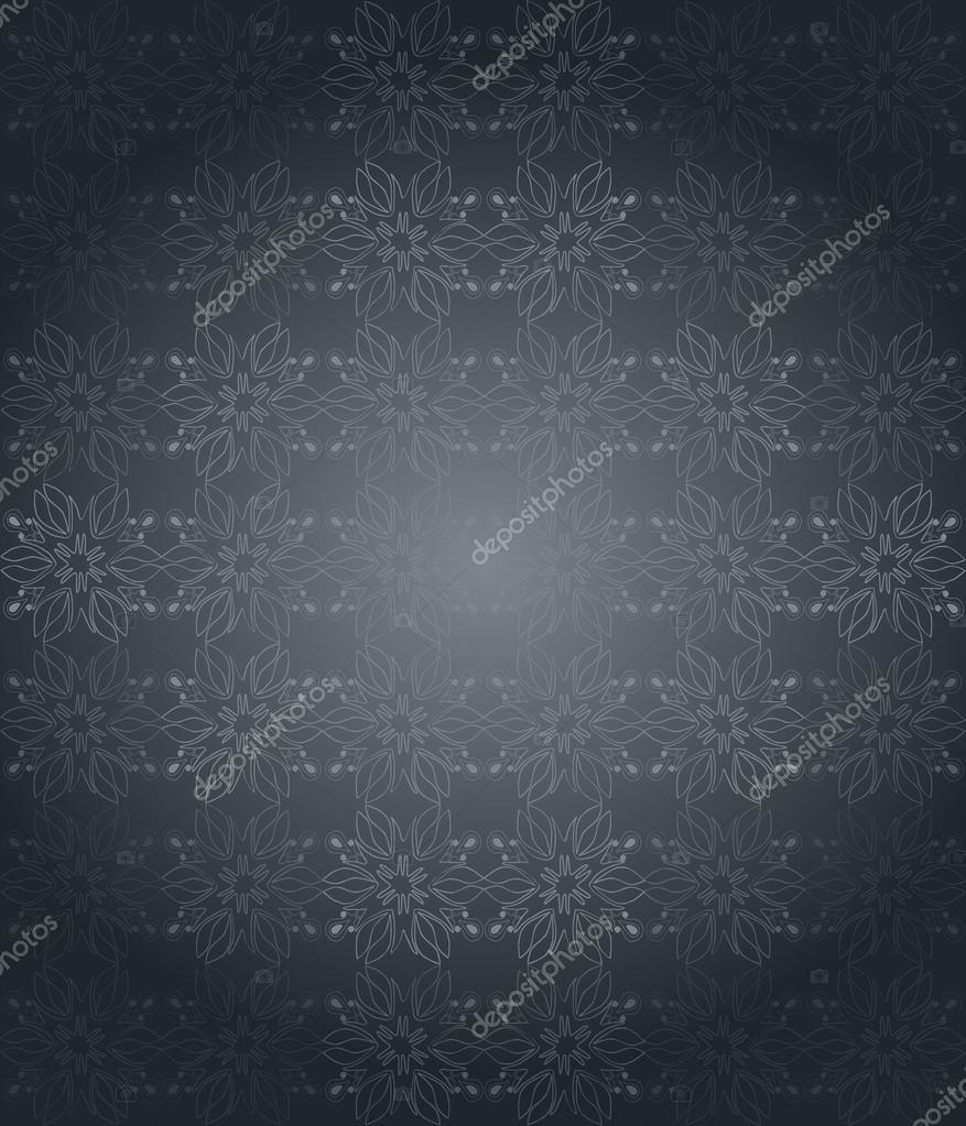 Seamlessly Wallpaper With Dark Gray Color Tones