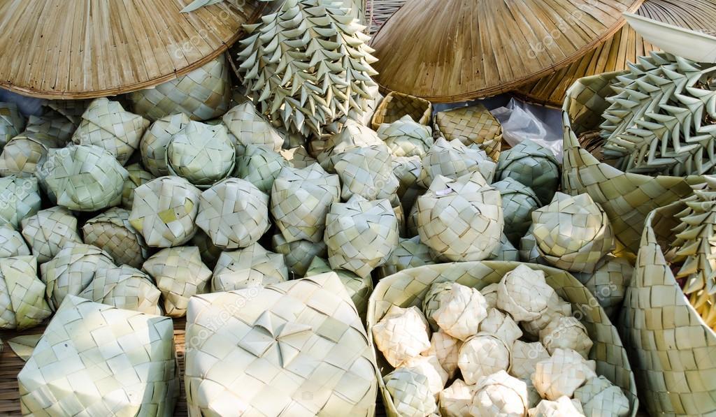 Palm Leaf Handicraft Stock Photo C Norrabhudit Hotmail Com 64566891