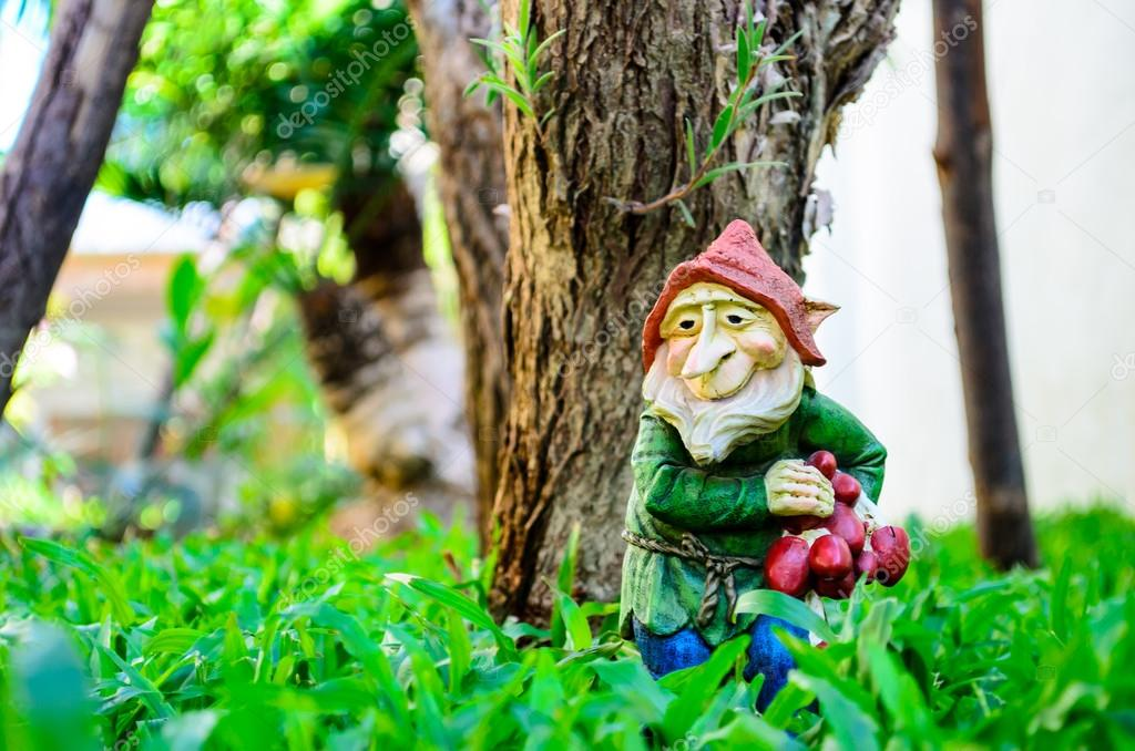 Keramik Garten Gnome Stockfoto Norrabhudit At Hotmailcom 86422844