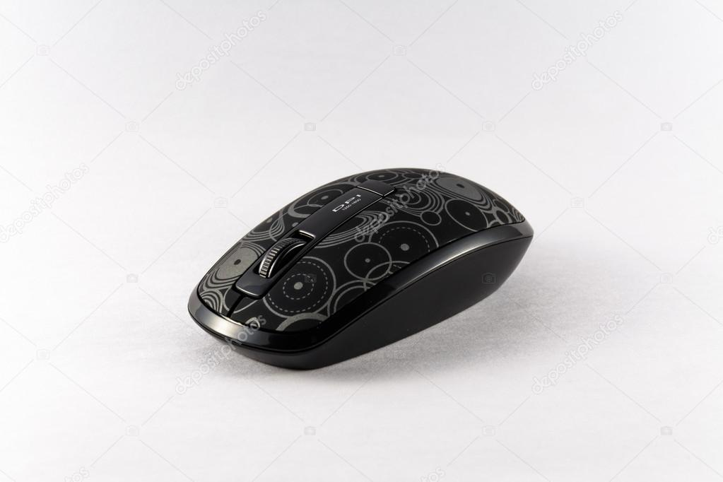 d0f5a8be8d0 Right side black wifi mouse — Stock Photo © wutgprs #62302987