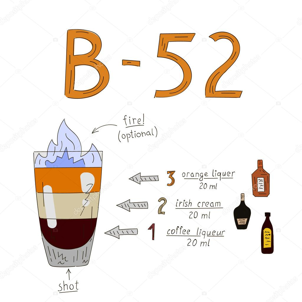 B 52 Drink Recipe Coffee