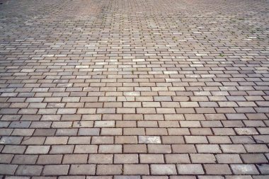 Paving from figured tiles