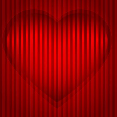 Valentines-day-red-heart-background-effect-pressed