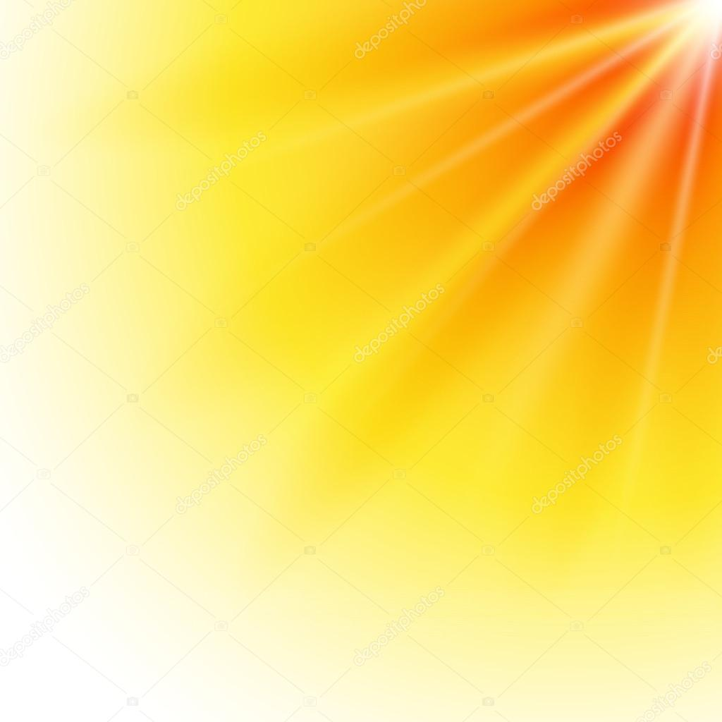 Sun-explosion-bright-light-yellow-background
