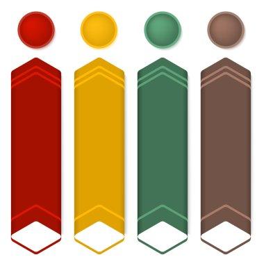 Vertical-banner-set-information-up-arrow-insulated
