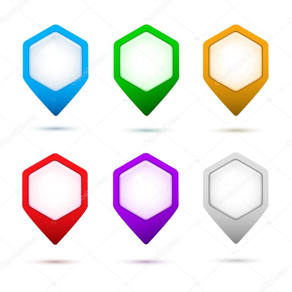 Sign-a-pointer-button-set-color