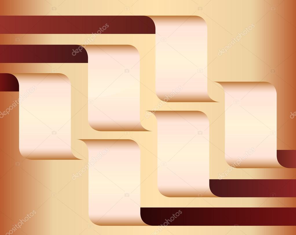 presentation-template-design-element-layout-brown
