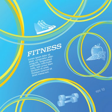 Fitness-card-background-flyer-template