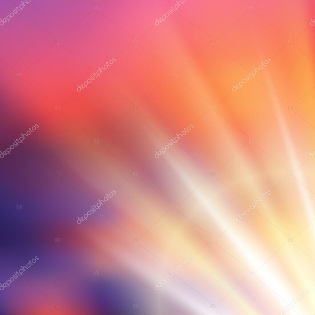 Sunray-brust-background-on-blurry-colorang