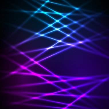 falling lines glowing effect stripes background