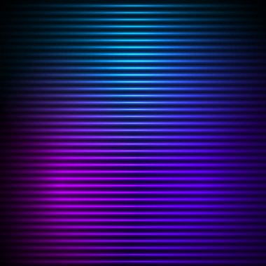 glowing effect horizontal stripes background