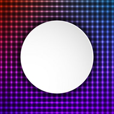 presentation template circle of sparkling background