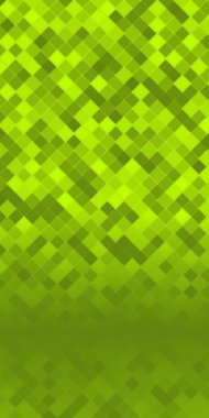 pixels mosaic squares page booklet green background