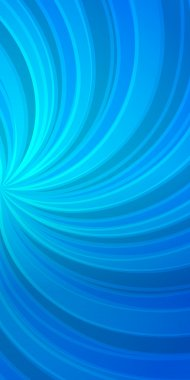 elegant cover page booklet glowing blue twist