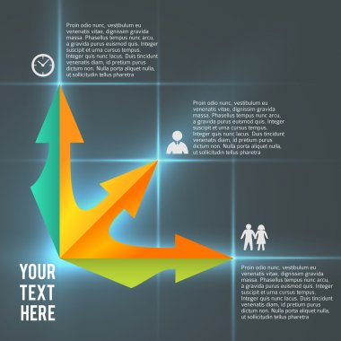 infographics business management presentation template