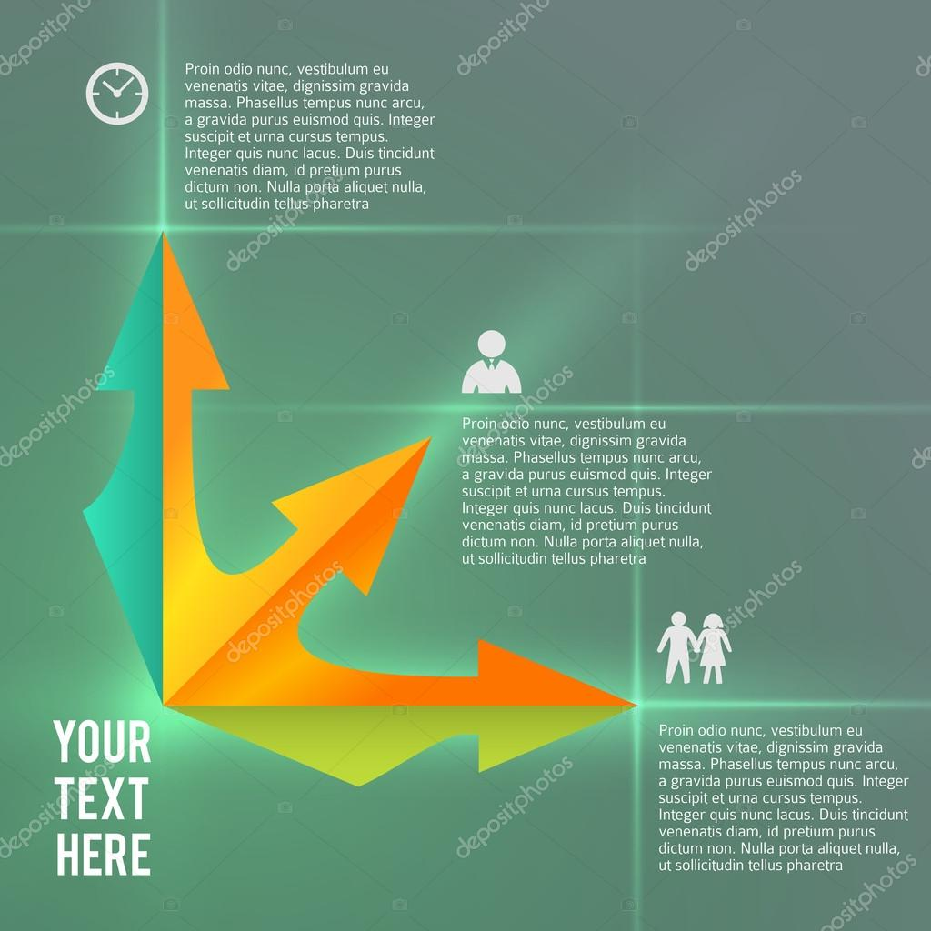infographics business presentation template management services