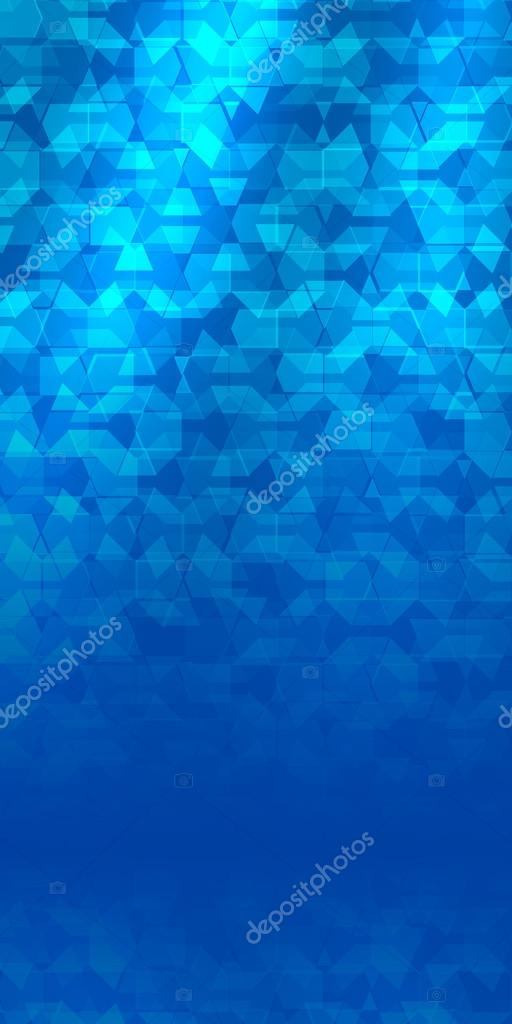flyer blue