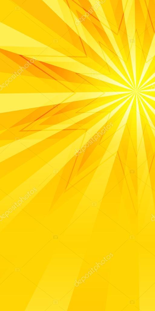 yellow background flyer page brochure effect shine bright star