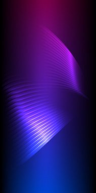 glow effect vertical banner light background