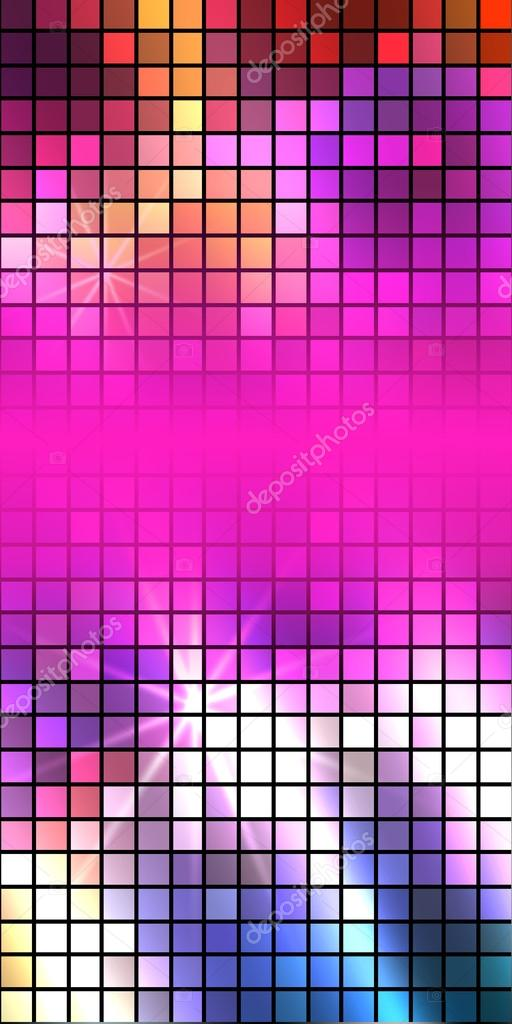 effect disco party flyer background pattern stock vector