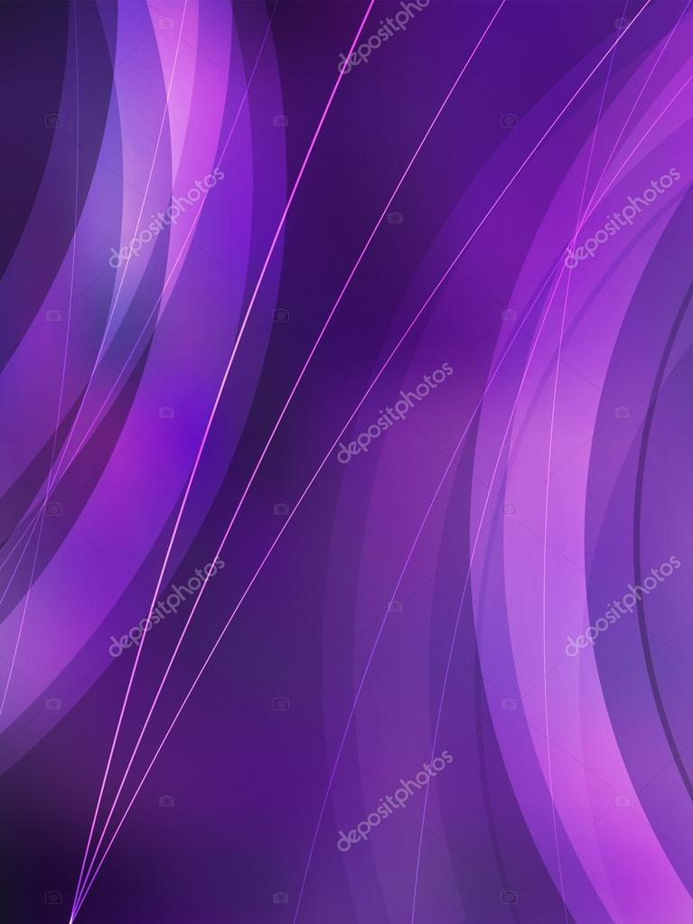 Violet Blur Background Vertical Format A4 Page Stock Vector