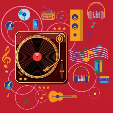 Flat Music design