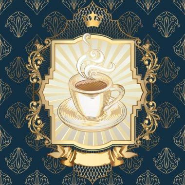 vintage Cup of coffee