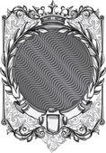 Fotografie Decorative vintage emblem