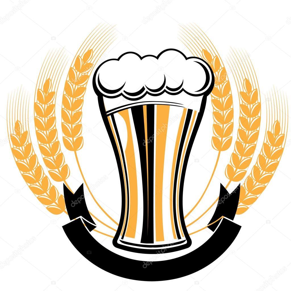 Beer Drink Design Stock Vector C Alex Scholar 92182490
