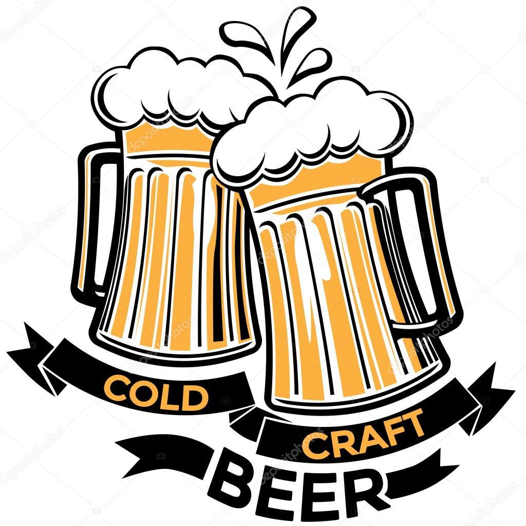 Beer Drink Design Stock Vector C Alex Scholar 92296272