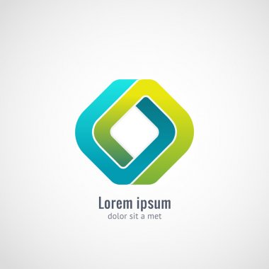 Business Abstract icon.